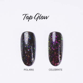 UV Nagellack 7,2 ml - Top Glow Celebrate