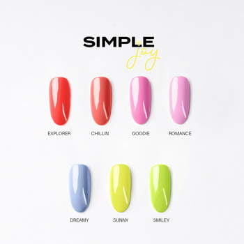 SIMPLE XPRESS UV NAGELLACK 7,2 G - SMILEY
