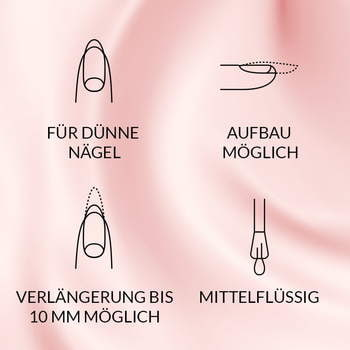 UV Nagellack 7,2 ml -  BASE EXTRA
