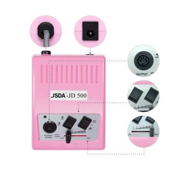 Nagelfräser JSDA Nail Drill JD 500 Rose