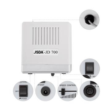 Nagelfräser JSDA Nail Drill JD 700 White