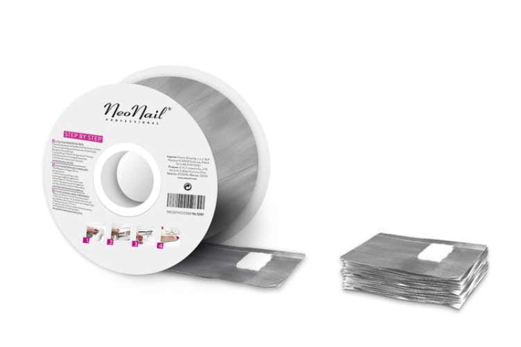 Foil Nail Wraps -250er Rolle