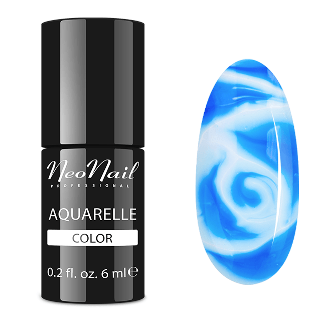 UV Nagellack 6 ml - Ocean Aquarelle