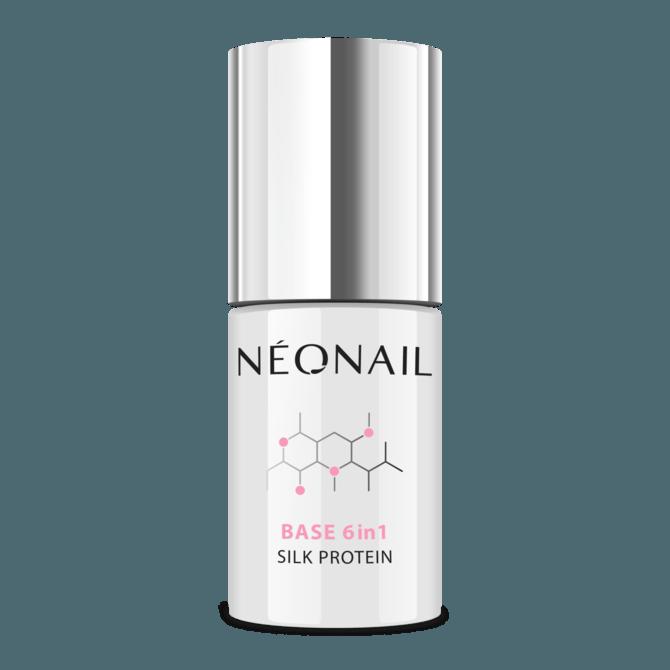 UV Nagellack 7,2 ml - Base 6in1 Silk Protein
