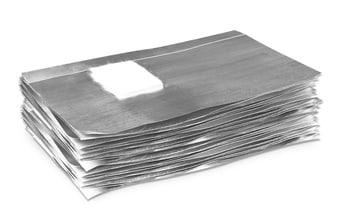 Foil Nail Wraps - 50 Stk