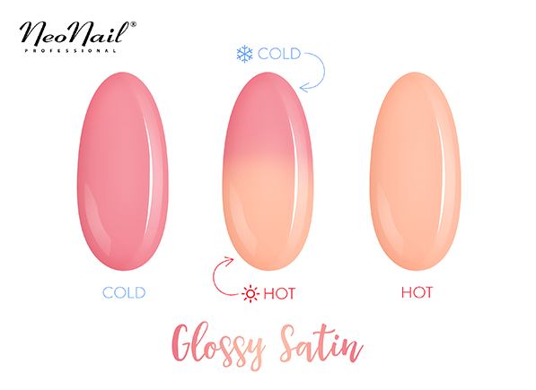 Thermo UV Nagellack Glossy Satin