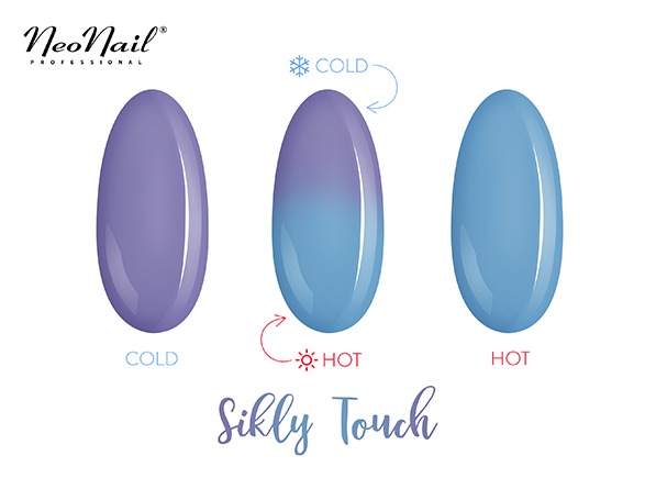 Thermo UV Nagellack Silky Touch
