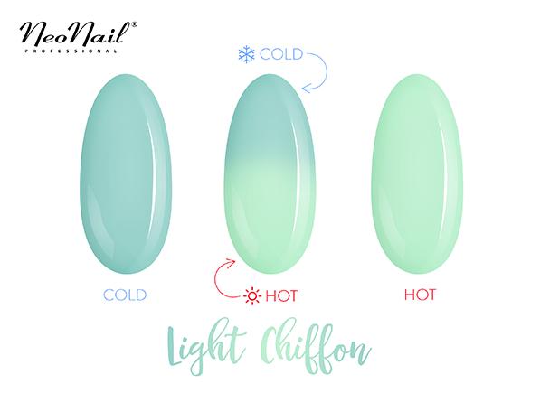 Thermo UV Nagellack Light Chiffon