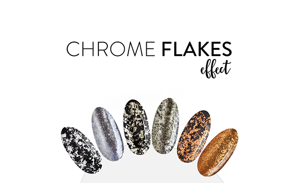 Chrome Flakes Effect