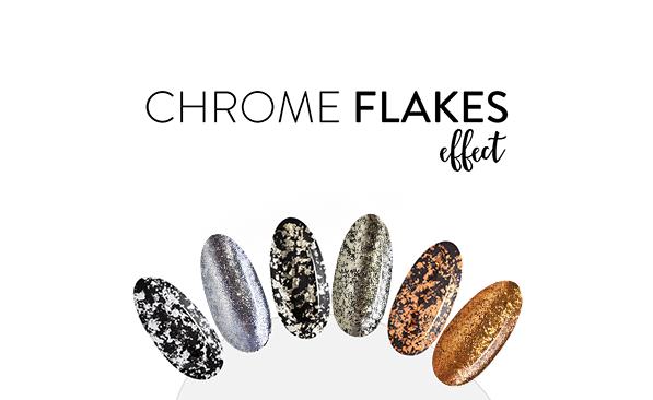 Chrome Flakes Effect
