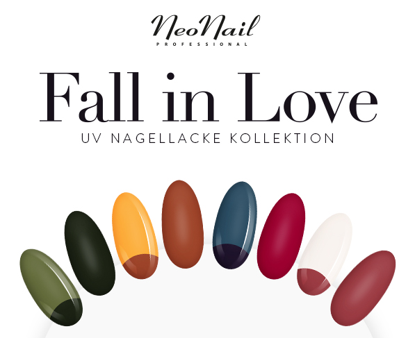 Fall in Love Kollektion - UV Nagellacke