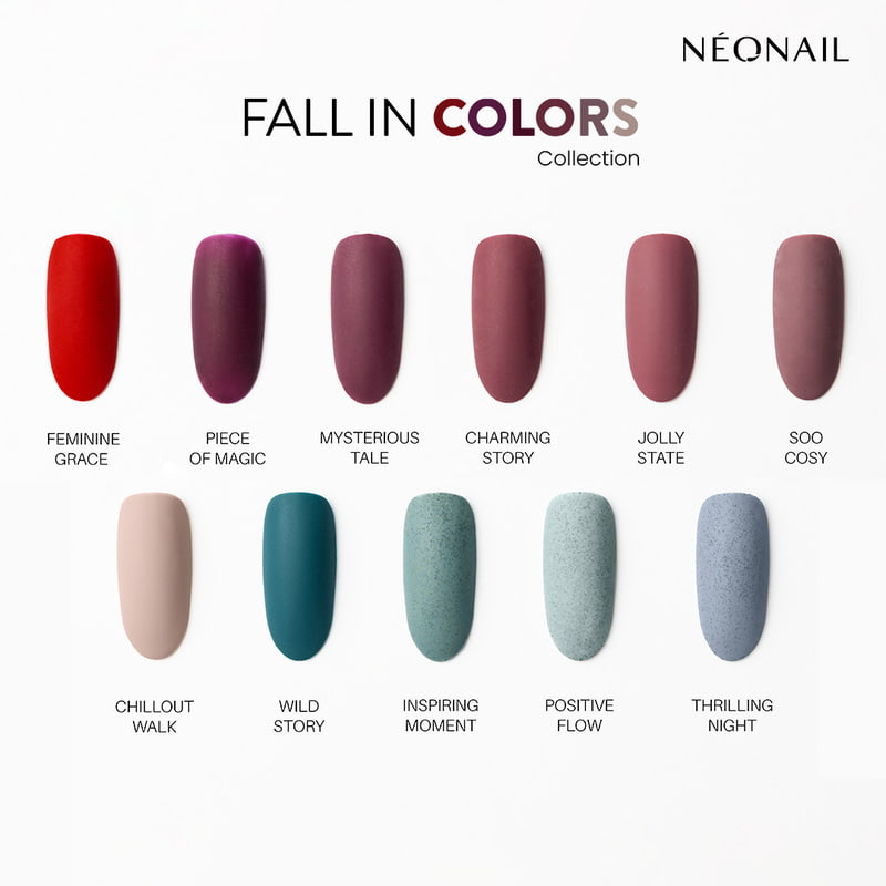 Fall in Colors Collection in matte