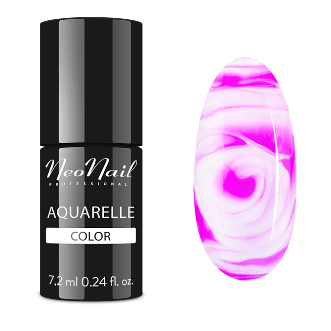 UV Nagellack 7,2 ml - Fuchsia Aquarelle