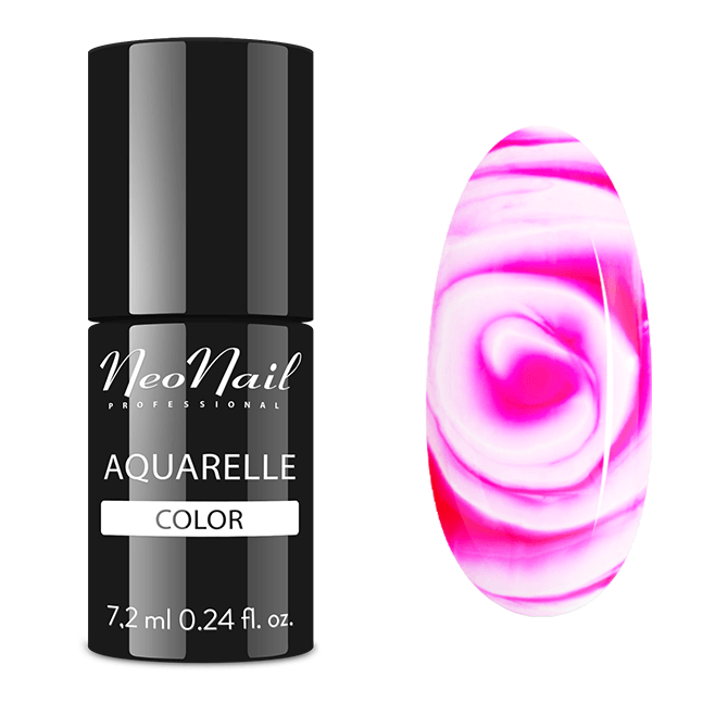 UV Nagellack 7,2 ml – Raspberry Aquarelle