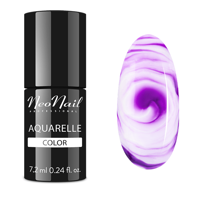 UV Nagellack 7,2 ml - Purple Aquarelle