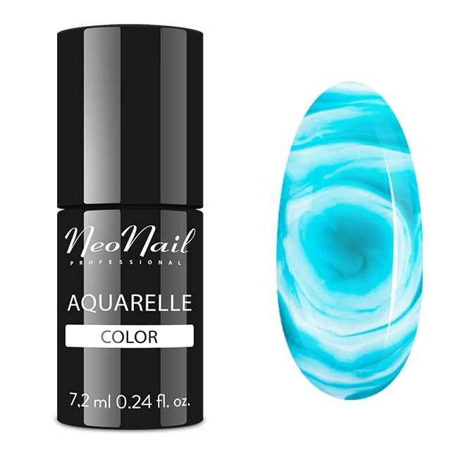 UV Nagellack 7,2 ml - Emerald Aquarelle
