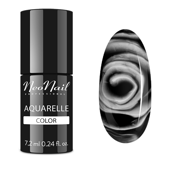 UV Nagellack 7,2 ml - Black Aquarelle