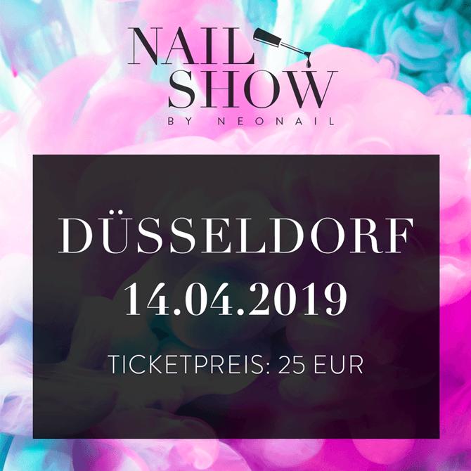 Ticket für die Nail Show by NeoNail