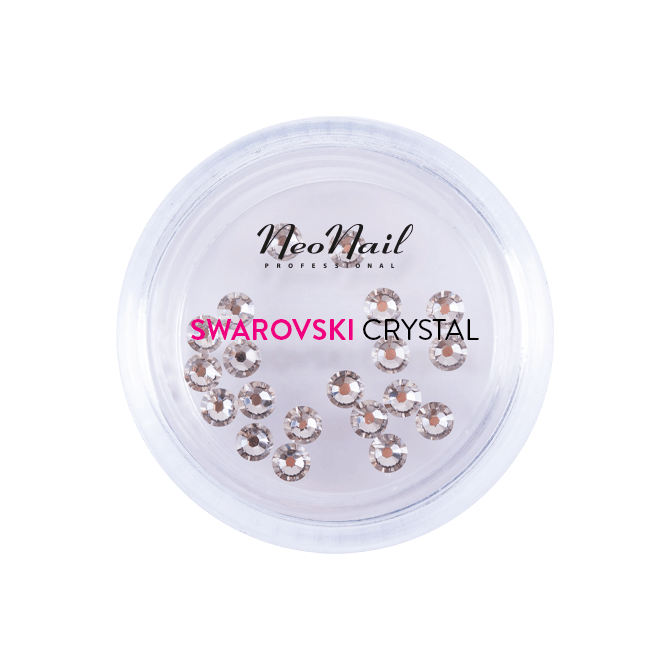 ZIRKONIASTEINE SWAROVSKI SS9 20 Stk. Crystal 001 Silver Shade