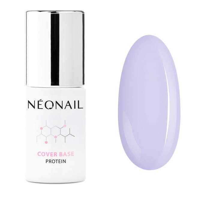 UV Nagellack 7,2 ml - Cover Base Protein Pastel Lilac