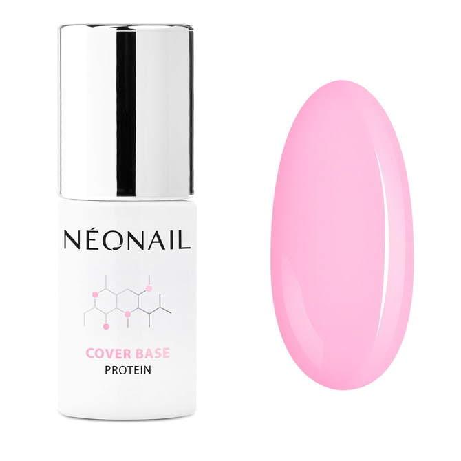 UV Nagellack 7,2 ml - Cover Base Protein Pastel Rose