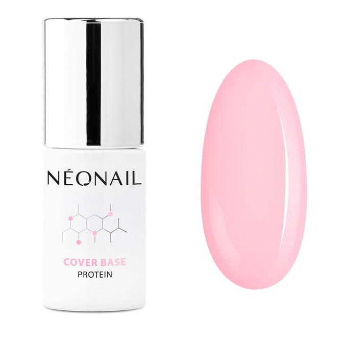 UV Nagellack 7,2 ml - Cover Base Protein Pastel Apricot