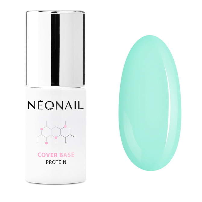 UV Nagellack 7,2 ml - Cover Base Protein Pastel Green