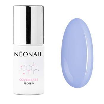 UV Nagellack 7,2 ml - Cover Base Protein Pastel Blue