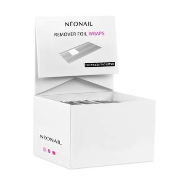Foil Nail Wraps - 100 Stk
